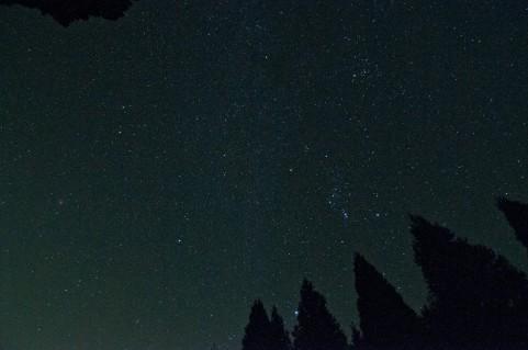 夜間パックで星を見に行こう!