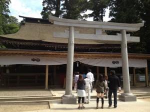 鹿島神宮_拝殿