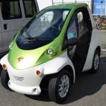 サークルKサンクスでカーシェアリングを利用できる!「Ha:mo RIDE」の小型EV「COMS(コムス)」に乗れる♪